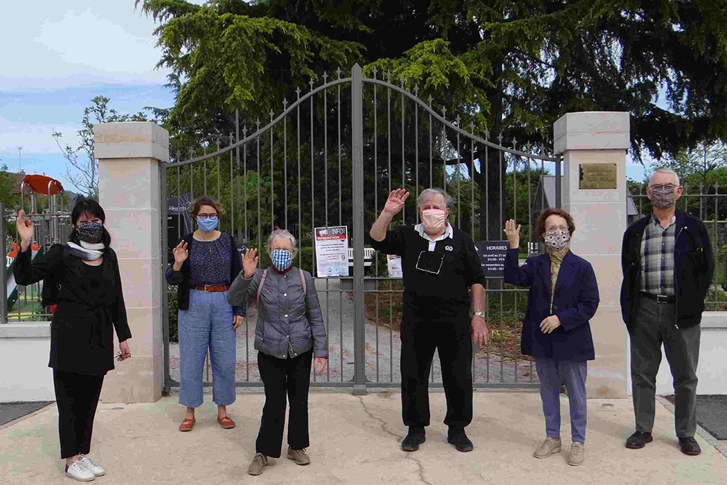 Merci à nos amis de Naurod pour l'envoi de masques